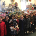 Kindergarten Goes to the Food Cupboard