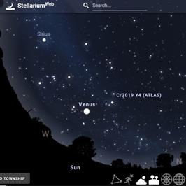 Virtual Field Trip - Stellarium