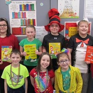 Dr. Seuss Day Sweeps SCS