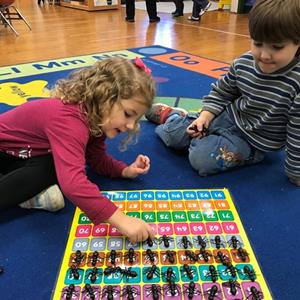 Pre-School Celebrates 100 Days of School