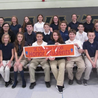 SCS Middle School Students Earn Academic Honor Status