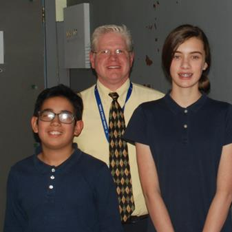 St. Columba School Gets Their Geo Bee Champion